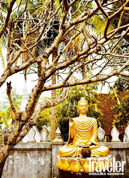 老挝琅勃拉邦 史上遭受轰炸最多的地方在涅槃重生