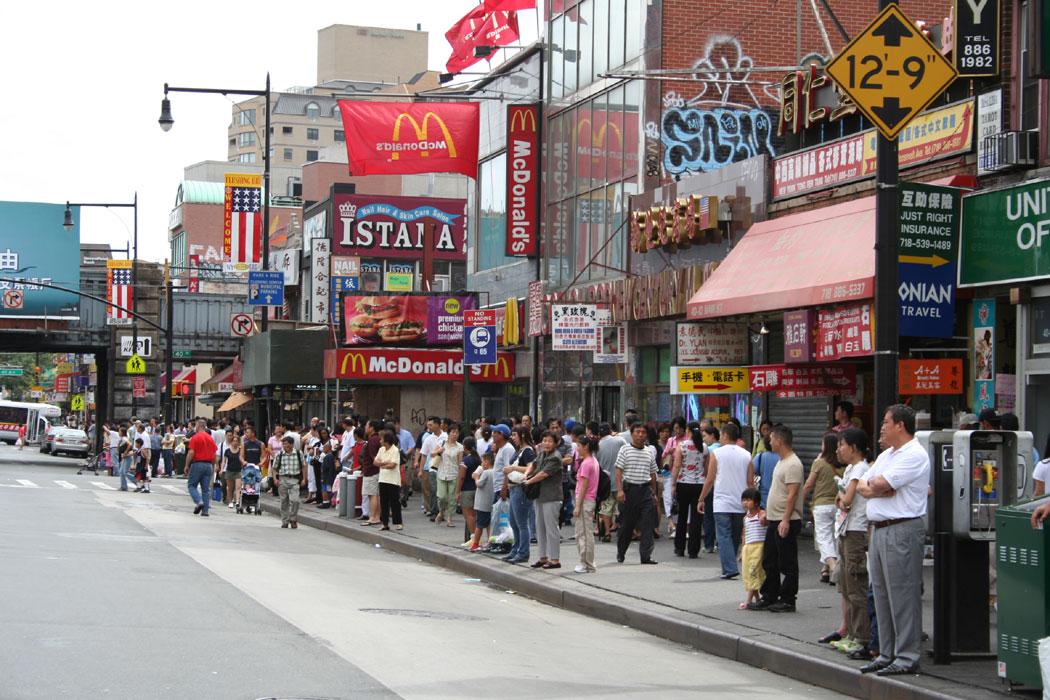 《纽约法拉盛旅游 美国旅游新景点》