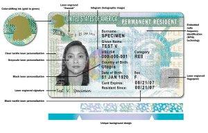 綠卡真的變綠了 揭秘美國移民局新版綠卡