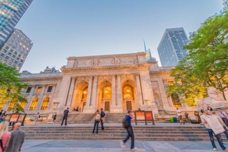纽约公共图书馆是美国最大的公共图书馆。(Fotolia)