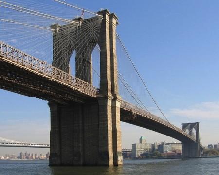 布鲁克林大桥。(Wiki Commons)
