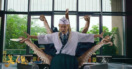 韩国活吃章鱼 无与伦比的享受