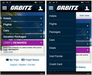 《Orbitz订机票英文页面-中文图解》