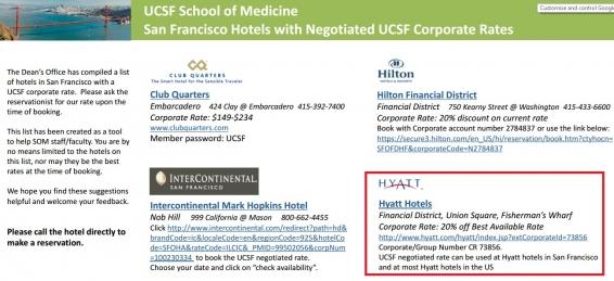 hyatt corporate code