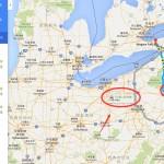华盛顿到尼亚加拉瀑布,开车需要多久时间?