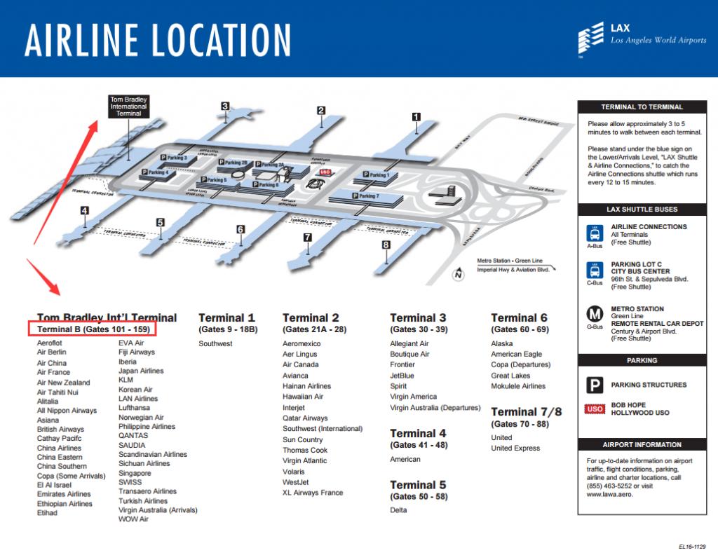洛杉矶航站楼B-Terminal B