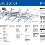 洛杉矶国际机场 航站楼B在哪里?(Terminal B)