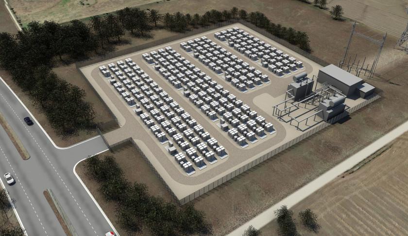 《特斯拉锂电池蓄电厂 取代天然气工厂供电》