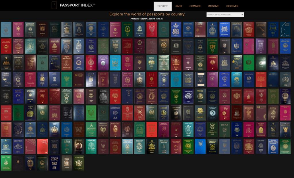 《为什么护照大部分都是4种顏色?》