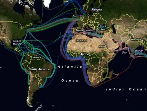 中国海底光缆分布�_中国的海底光缆,中美海底光缆-北美攻略大全