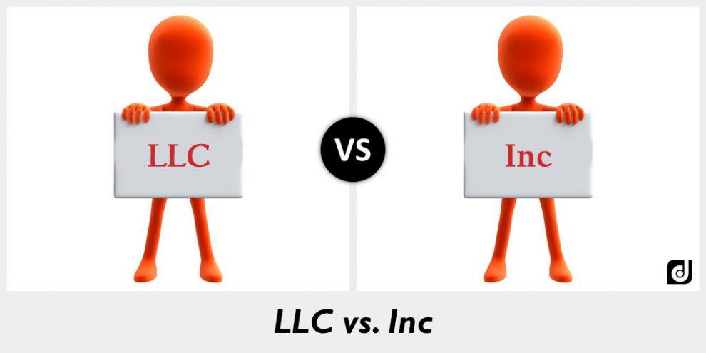 《美国公司LLC与INC的区别》