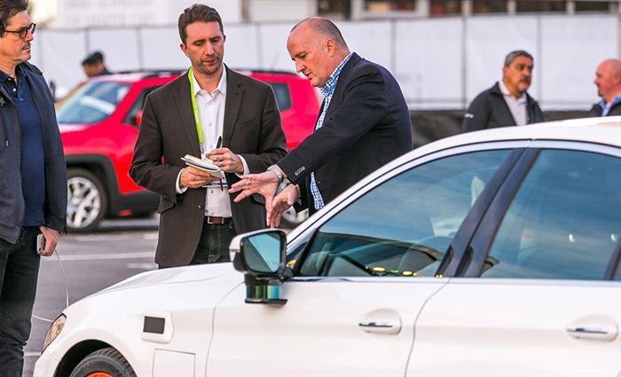 《拉斯维加斯Lyft和Aptiv的自动驾驶车队》