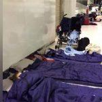 澳航飞机出故障航班被延误 乘客被迫睡机场