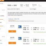 古巴旅行需求强劲 航班信息上架Kayak