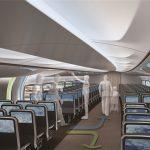 飞机新设计:雪茄形客舱 机身中部双开门登机