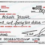 在美国怎么开支票?